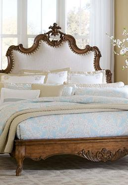 Tyrolean Upholstered Bed