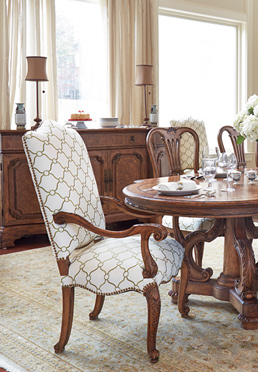 Caravan Upholstered Dining Chairs