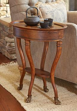 Voyager End Serving Table