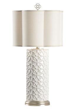Cornelia Lamp - White