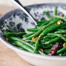 Green Beans with Pancetta and Hazelnut Brown Butter