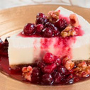 Cranberry-Walnut Cheesecake Topping