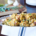 Apple Bacon Cornbread Stuffing Muffins