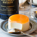 Citrus and Goat Cheese Panna Cotta