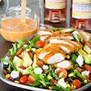 Fried Chicken Salad With Jalapeño Lime Vinaigrette